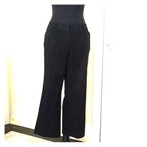 🖤INC Black Stretch Crop Pants Sz 12